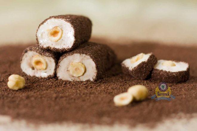 Рулет «Султан» с какао и фундуком